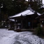 国束寺 積雪