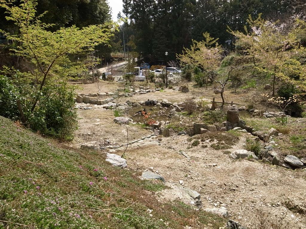 国束寺 西境内整備 平成25年3月