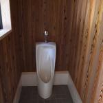 国束寺 参詣者用トイレ