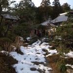 国束寺 残雪