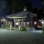 国束寺 ライトアップ
