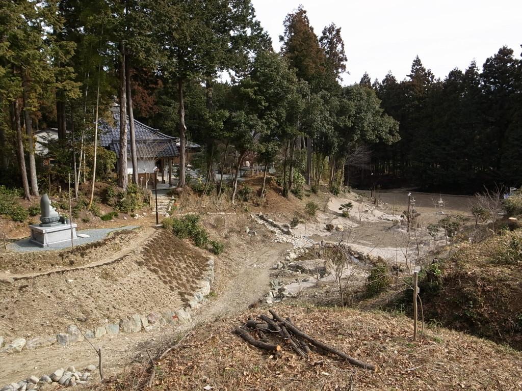 国束寺 西境内開発 平成23年2月
